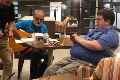 Saturday_Night_Bill_Allen_Playing_Guitar_with_Clay_Trachtman